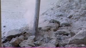 poussière marteau piqueur